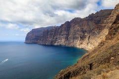 Los Gigantes, Tenerife imagem de stock