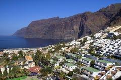 Los Gigantes in Tenerife Lizenzfreie Stockbilder