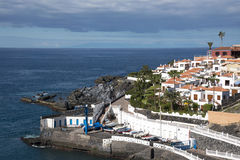 Los Gigantes on tenerife Stock Images