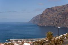 Los Gigantes, Tenerife Stockbild