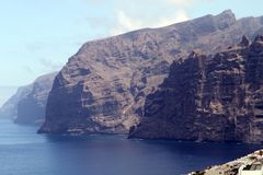 Los Gigantes, Tenerife Royalty-vrije Stock Afbeeldingen