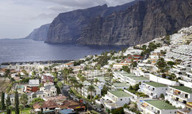 Los Gigantes on Tenerife Stock Photos