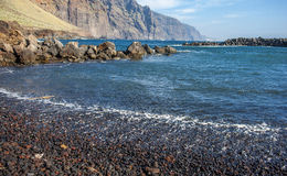 Los Gigantes on Tenerife Stock Image