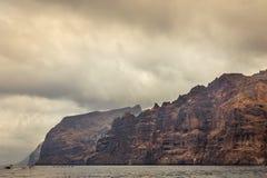 Los Gigantes in Tenerife, isole Canarie, Spagna fotografie stock