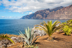 Los Gigantes. Tenerife, Spain Royalty Free Stock Photography