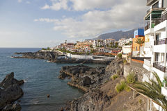 Los Gigantes town Stock Photo