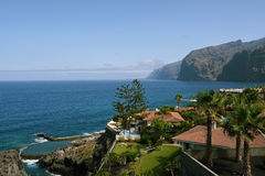Los Gigantes view, Tenerife, Spain Royalty Free Stock Image