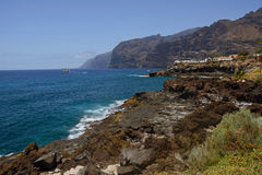 Los Gigantes view, Tenerife, Spain Stock Image