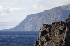 Los Gigantos. The coast of Los Gigantos - Tenerife - Spain Royalty Free Stock Image
