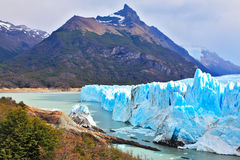 Los Glaciares国家公园 免版税图库摄影
