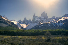 Los Glaciares National Park Royalty Free Stock Photo
