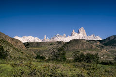 Los Glaciares National Park Stock Image