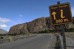Los Glacieres国家公园  库存图片