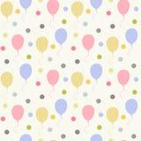 Los globos modelan el plano Imagen de archivo libre de regalías