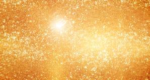 Los gols abstractos flash y porción de los brillos del oro para el día de fiesta, fondo abstracto generado por ordenador, 3D rind stock de ilustración