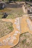 Los grandes baños Sitio arqueológico de Dion, Grecia Imágenes de archivo libres de regalías