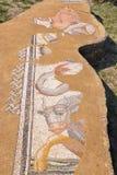 Los grandes baños Sitio arqueológico de Dion, Grecia Foto de archivo libre de regalías