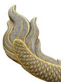 Los grandes Naga atan la estatua Foto de archivo libre de regalías