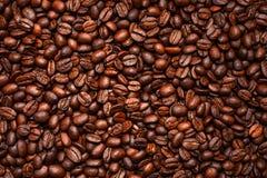 Los granos de café asados, pueden ser utilizados Fotografía de archivo libre de regalías