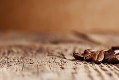 Los granos de café asados, pueden ser utilizados Fotografía de archivo