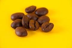 Los granos del café fotos de archivo