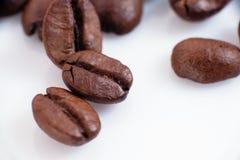 Los granos del café foto de archivo