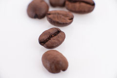 Los granos del café foto de archivo libre de regalías