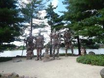 Los guardas de la roca Imagenes de archivo
