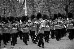 Los guardias de la reina Fotografía de archivo libre de regalías
