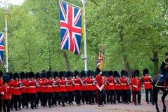 Los guardias de la reina Imagenes de archivo