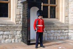 Los guardias de la reina Imagen de archivo