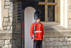 Los guardias de la reina Foto de archivo libre de regalías