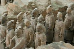 Los guerreros de la terracota Imagenes de archivo