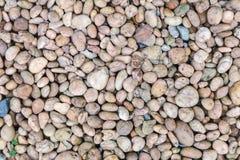 Los guijarros de piedra texturizan o empiedran el fondo de los guijarros para el diseño Imagenes de archivo