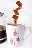 Los gustos tienen gusto del chocolate Imagen de archivo