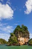 Los Haitises Nationaal Park stock foto