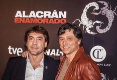Los-hermanos Javier y Carlos Bardem Royaltyfria Foton