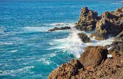 Beautiful landscape of Lanzarote Island Royalty Free Stock Photography