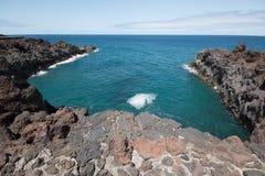 Los Hervideros, Lanzarote island, Spain. Royalty Free Stock Photography