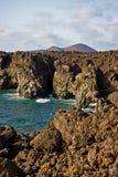 Los Hervideros, Lanzarote Imagens de Stock Royalty Free