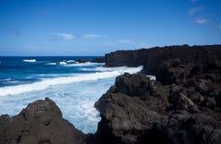 Los Hervideros, Lanzarote Royaltyfri Fotografi