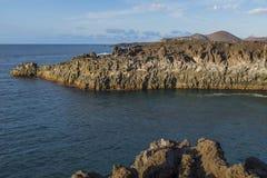 Los Hervideros, Lanzarote, Kanarische Inseln, Spanien lizenzfreies stockfoto