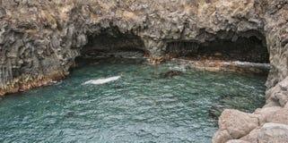 Los Hervideros, Lanzarote Stock Images