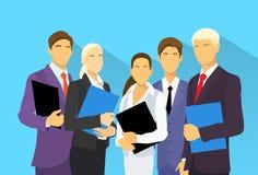Los hombres de negocios agrupan vector plano de los recursos humanos libre illustration