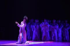 """Los hombres se visten para arriba como  de Lanfang†del drama""""Mei de la mujer-danza Foto de archivo"""