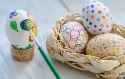 Los huevos adornan Imagen de archivo libre de regalías