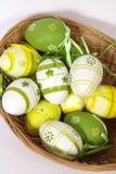 Los huevos de Pascua Fotografía de archivo