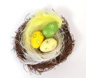 Los huevos de Pascua Fotos de archivo