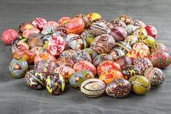 Los huevos de Pascua de la colección la paz de Lidia Borysenko fotos de archivo libres de regalías
