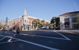 Los i stadens centrum Gatos Royaltyfri Fotografi